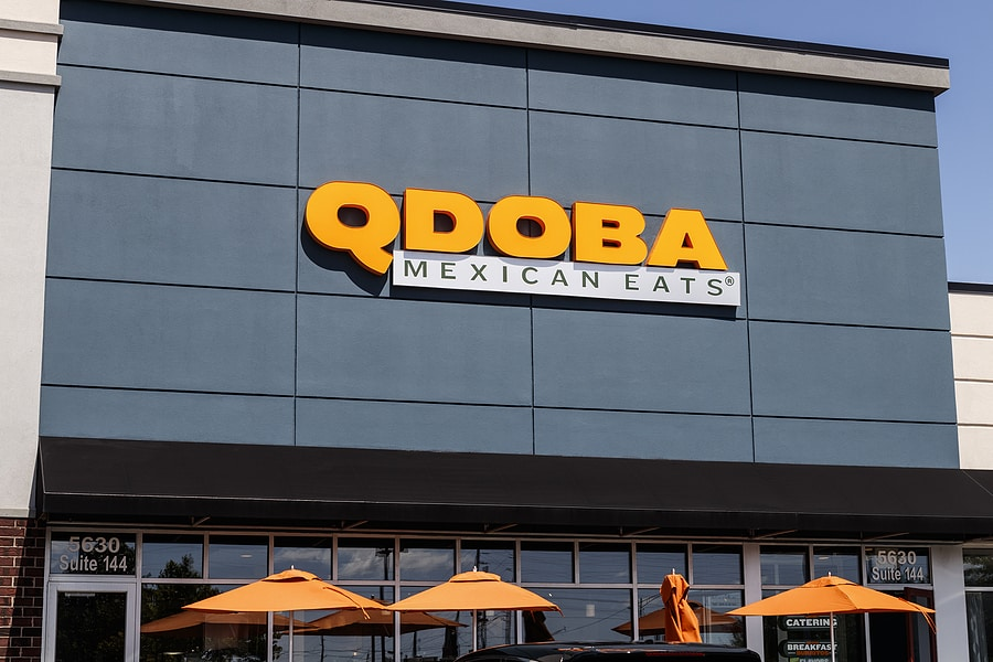 QDOBA Mexican Eats Trading Kisses – This Valentine's Day