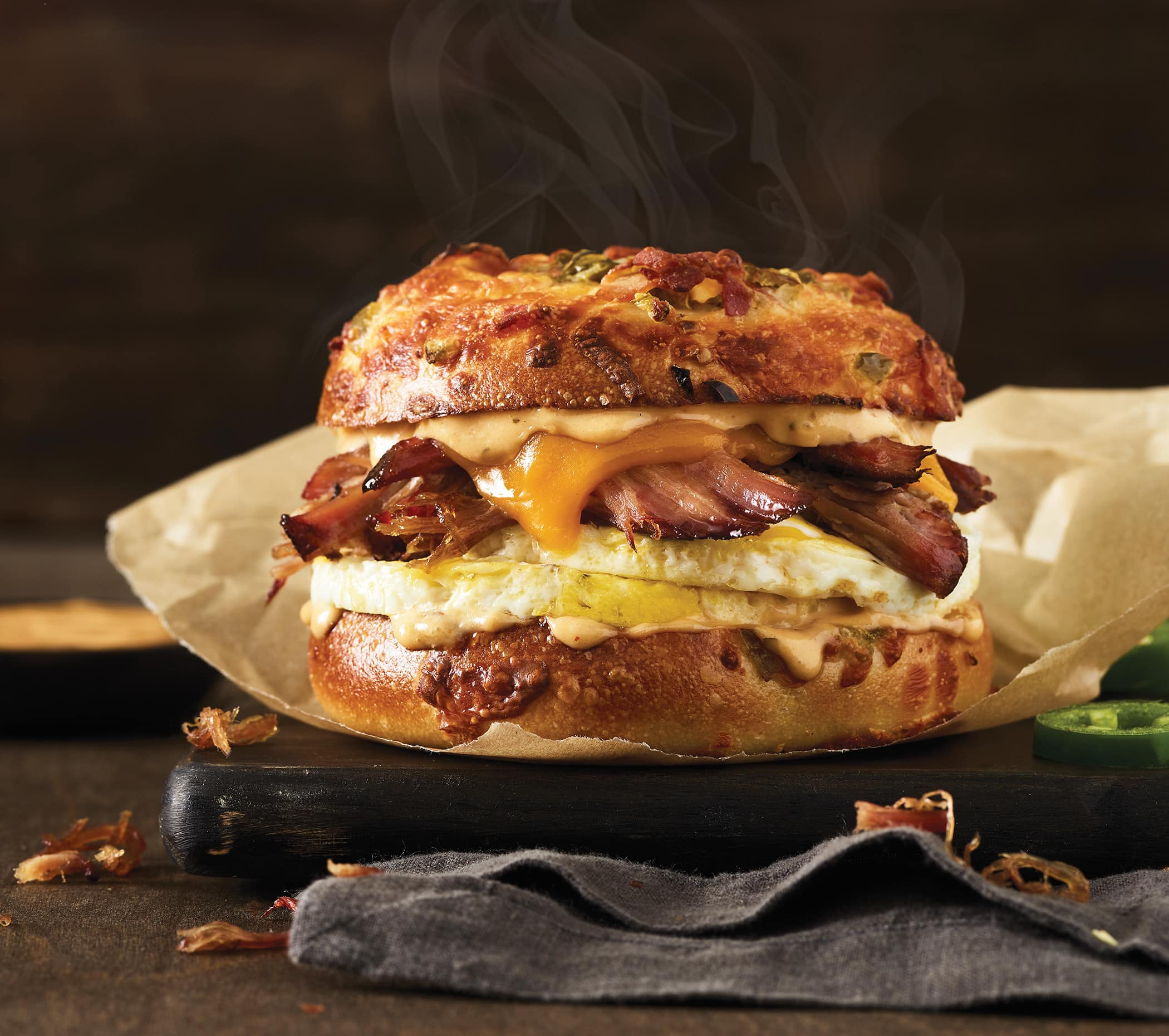 Now at Einstein Bros. Bagels - Brisket is for Breakfast