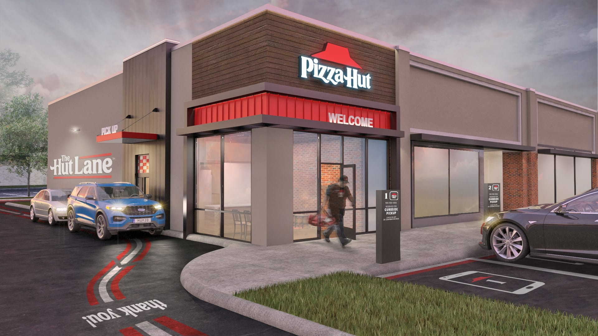 Pizza Hut Launches The Hut Lane - A Digital-First Carryout Option