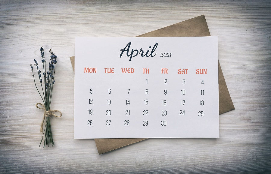 Happy April Fool's Day - April 2021 Restaurant Marketing Calendar