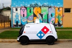 Domino's® – Nuro Launch Autonomous Pizza Delivery with On-Road Robot
